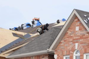 Roofers repairing a home in Culpeper, Virginia